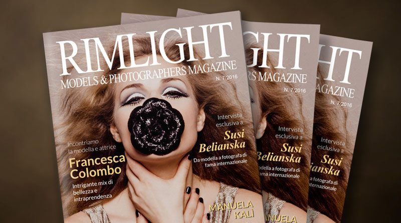 RIMLIGHT Models & Photographers Magazine n. 7/2016
