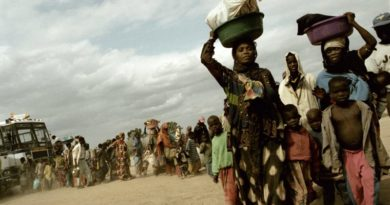 Alex Majoli, Arrival to Kakuma. Kakuma. KENYA