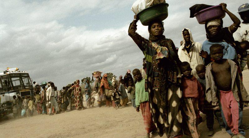 Alex Majoli, Arrival to Kakuma