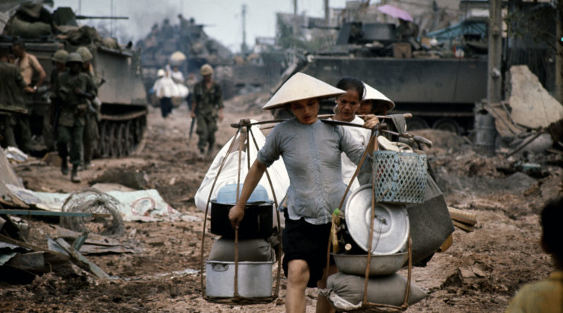 Philip Jones Griffiths, Refugees in Saigon during the fighting in May