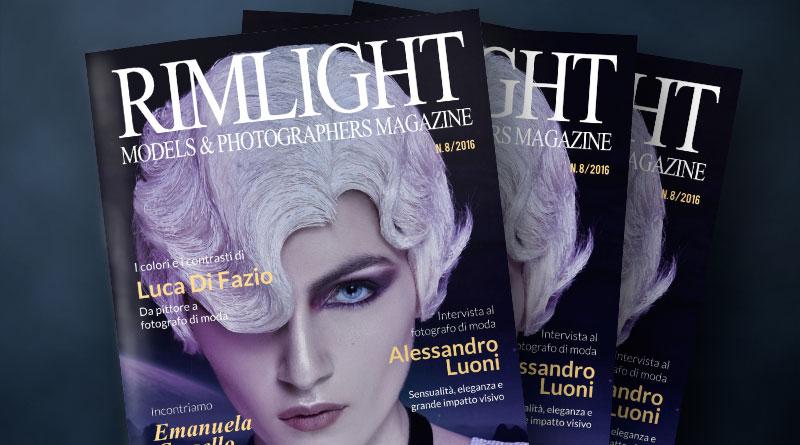 RIMLIGHT Models & Photographers Magazine - N. 8/2016