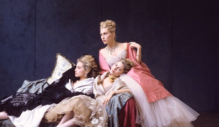 Pia Getty, Princess Alexandra von Furstenberg, Princess Marie‐ Chantal of Greece, ca. 1995