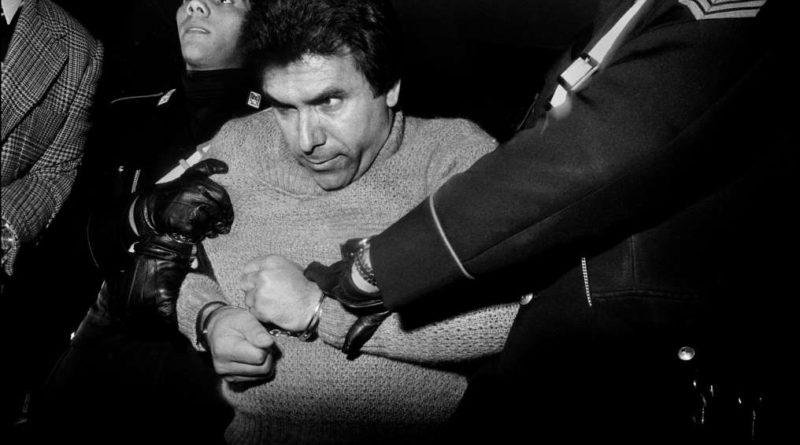 L'arresto del feroce boss mafioso Leoluca Bagarella, Palermo, 1980, Courtesy l'artista