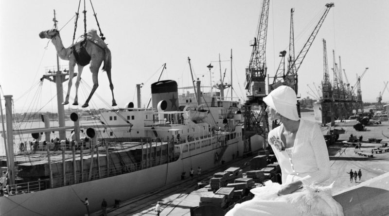 © Gian Paolo Barbieri, Jilly Kellington Port Sudan, 1974 - courtesy by 29 arts in progress