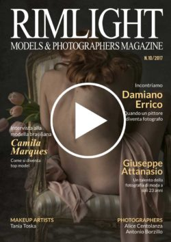 Cover RIMLIGHT Models & Photographers Magazine – N.10/17