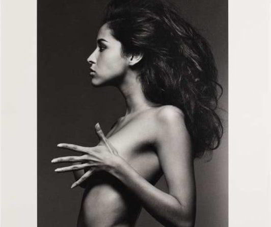 Piero Gemelli, Rosie De La Cruz, Milano, 1991. Stampa ai sali d'argento, 35,2 x 27 cm