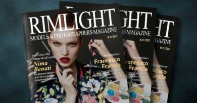 Cover RIMLIGHT Models & Photographers Magazine – N.11/17