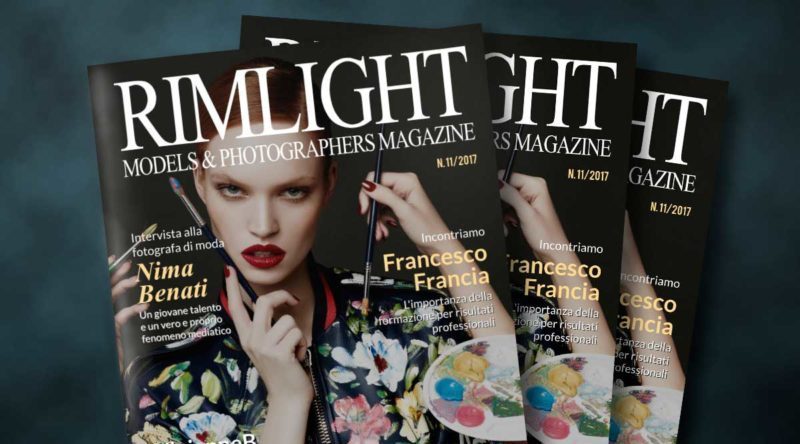 Cover RIMLIGHT Models & Photographers Magazine – N.11/17